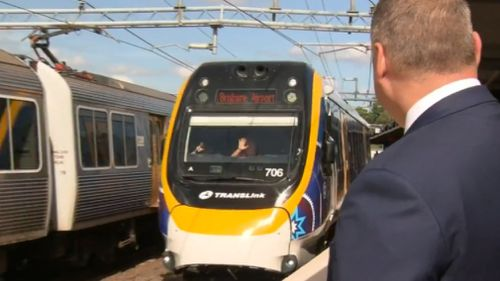 Queensland Rail Chief Executive Nick Easy said there has been a vast re-jig of service schedules in the lead up to the Games. (9NEWS)