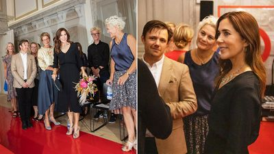Princess Mary attends musical performance, August 2019
