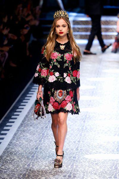 Dolce & Gabbana, autumn/winter '17/'18, Milan