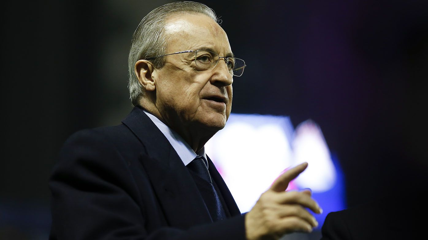 Super League clubs 'can't leave', claims Real Madrid president Florentino Perez