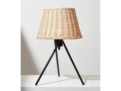 Wicker Tripod Table Lamp — Target