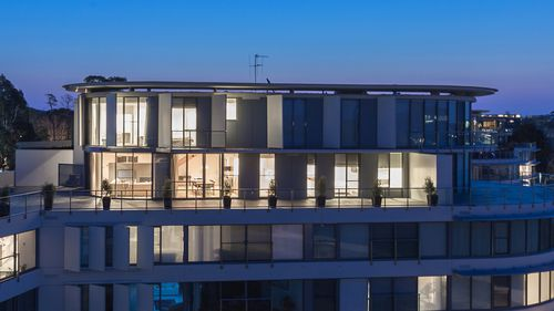 Malcolm and Lucy Turnbull's Canberra penthouse is up for sale.