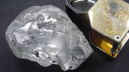 African miner unearths giant 442-carat diamond reportedly worth up to $25m