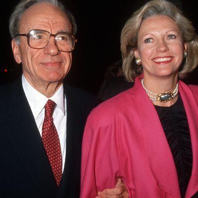 3. Rupert Murdoch and Anna Torv
