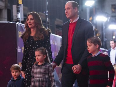 Prince George asked William to explain a 'risque' joke