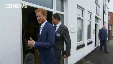Prince Harry comments on 'wonderful news' from Duke and Duchess