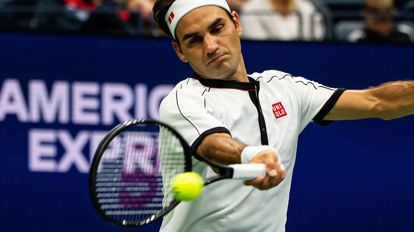 Roger Federer has twice been taken to four sets to start the US Open.