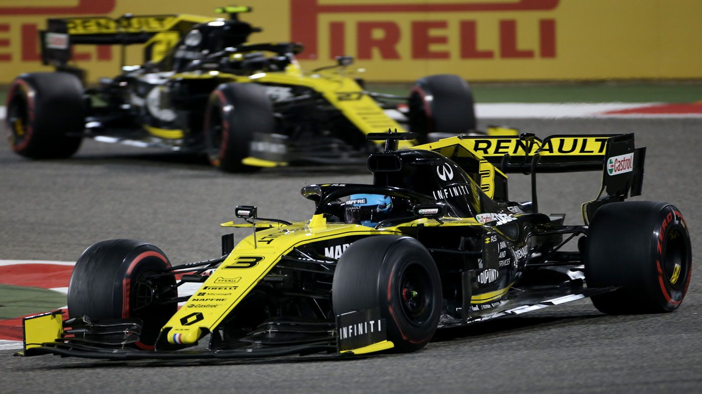 Renault's Daniel Ricciardo, Nico Hulkenberg suffer simultaneous failure at Bahrain GP