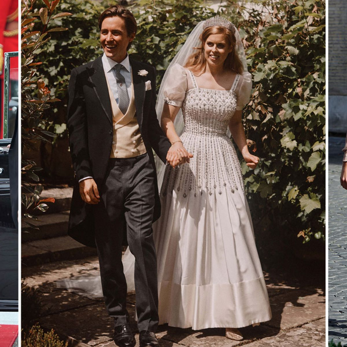 Princess Beatrice S Wedding Shoes Have Been Worn To Two Previous