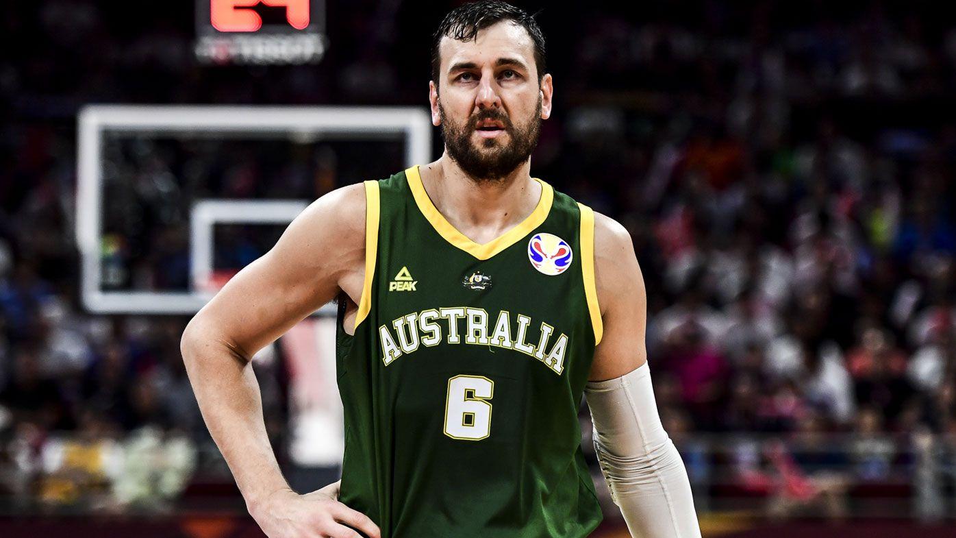 Andrew Bogut of Australia's Boomers