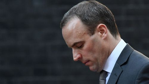 UK's Brexit Secretary Dominic Raab has quit.