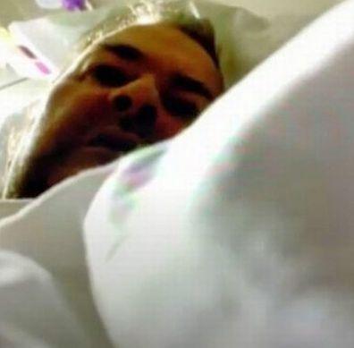 Images of Derek Draper in hospital seen in the upcoming documentary Kate Garraway: Finding Derek