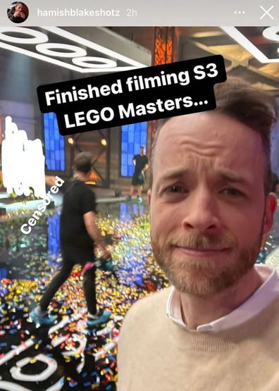 Hamish Blake LEGO Masters