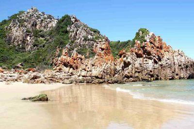 16. Noetzie Beach in Plettenberg Bay, South Africa