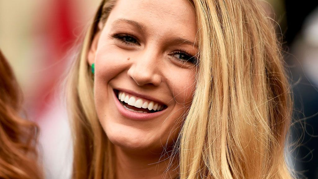 That hair, that glow ... Blake Lively has it all and then some. Image: Getty.