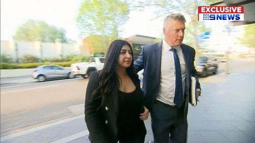 Ms Oncu appeared at Blacktown Local Court today where she was released on bail.