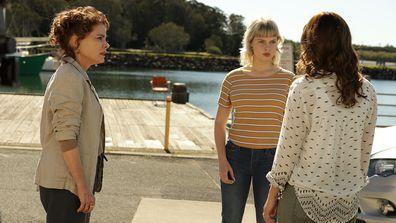 Seachange episode 2019 Stella confronts Miranda.