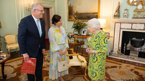 The Queen and the Prime Minister discussed the drought and Winx.