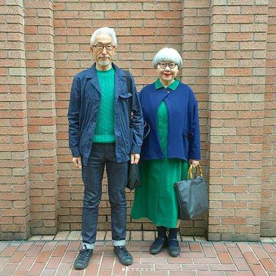 Japanese retirees Bon and Pon