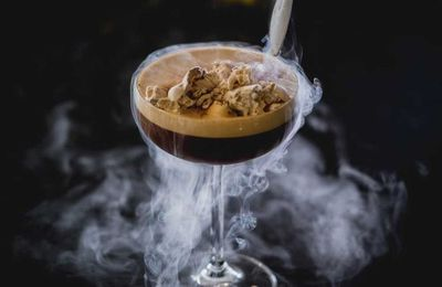"Recipe: <a href=""http://kitchen.nine.com.au/2017/06/19/16/24/koi-gotta-have-espresso-tini"" target=""_top"">Koi's 'Gotta have espresso tini' with tiramisu rocks</a><br /> <br /> More: <a href=""http://kitchen.nine.com.au/2017/06/19/16/51/deliciously-unconventional-martinis-for-world-martini-day"" target=""_top"">recipes for National Martini Day</a>"