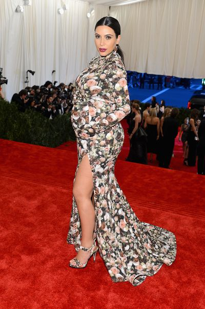 Kim Kardashian West in Givenchy at the 2013 Met Gala