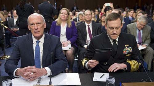 US intelligence chiefs deny White House pressure to ease FBI probe