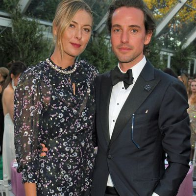 Maria Sharapova and  Alexander Gilkes