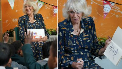 Camilla opens 'Life-changing Library'
