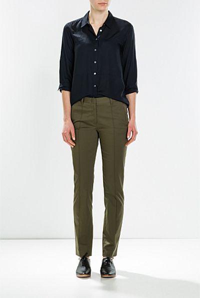 "<a href=""https://www.trenery.com.au/shop/womenswear/clothing/shirts/60196221/Modal-Shirt.html"" target=""_blank"">Trenery </a>modal shirt, $99.95<br />"