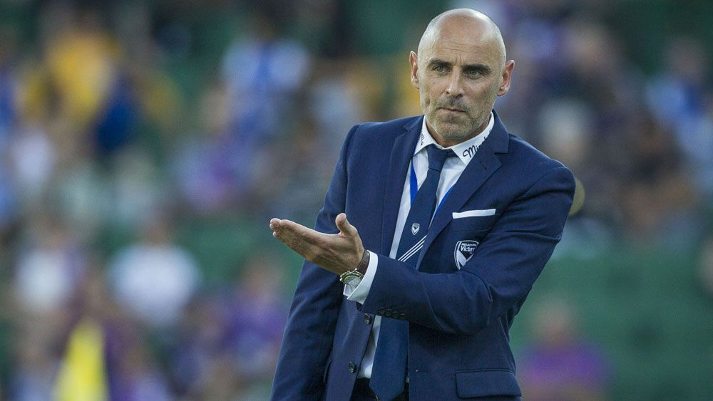Melbourne Victory coach Kevin Muscat. (AAP)