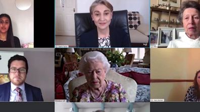 Queen Elizabeth's first video call for Carers Week 2020 with Princess Anne