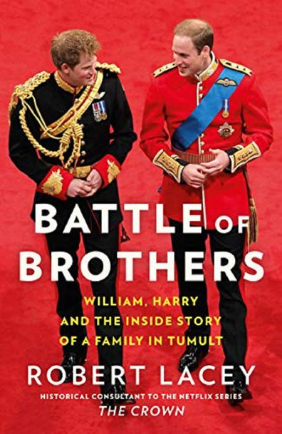 The book about the brother's relationship is out on October 20.