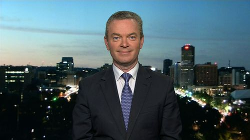 Christopher Pyne on the TODAY Show. (9NEWS)