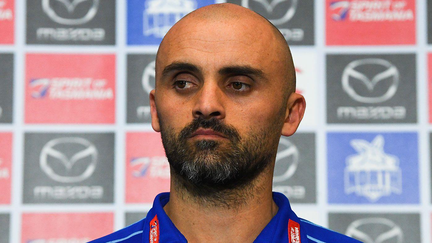 North Melbourne caretaker coach Rhyce Shaw denies rumours regarding permanent role