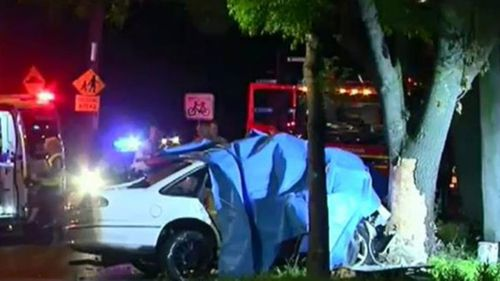 The 15-year-old boy died at the scene. (9NEWS)