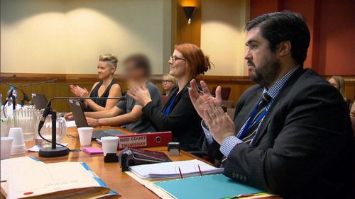 Approval and applause is a part of the Drug Court process.