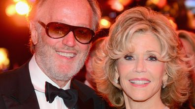 Peter Fonda and Jane Fonda in 2014