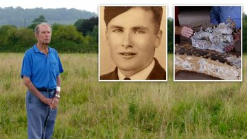 Is this the final resting place of missing Aussie pilot Bob Crane?