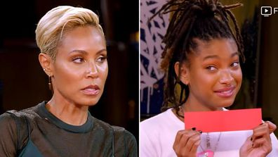 Jada Pinkett Smith and daughter Willow Smith on 'Red Table Talk'