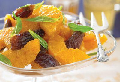 Orange and date salad