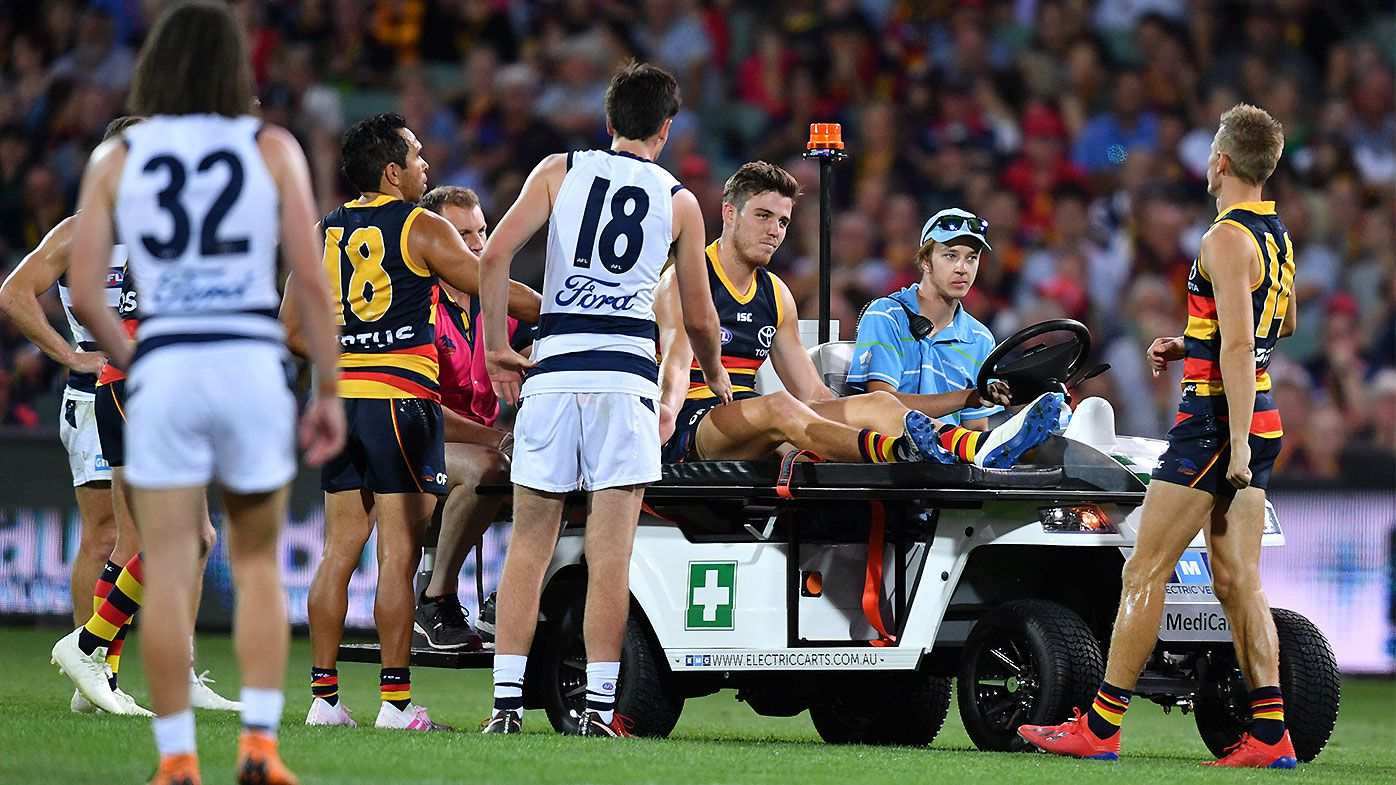 Update: Adelaide Crows star Paul Seedsman injury not as severe as first thought