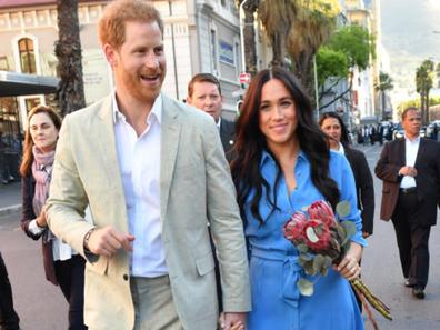 Prince Harry Meghan Markle Cape Town Archie