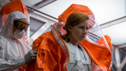 Amy Adams in Arrival. (Image: Jan Thijs/Paramount Pictures via AP)