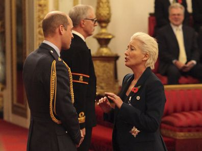 Emma Thompson dame title Prince William
