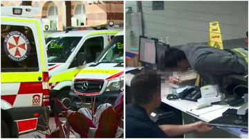 There are calls for higher safety standards for NSW paramedics and hospital workers with more and more reports of assaults on staff members.