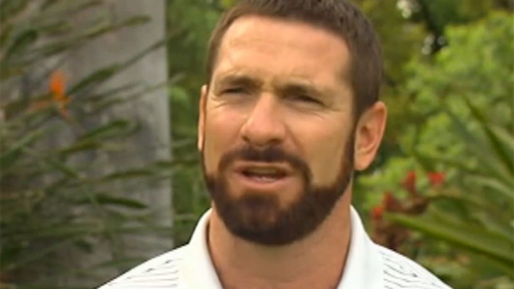 Jason Akermanis. (Nine News)