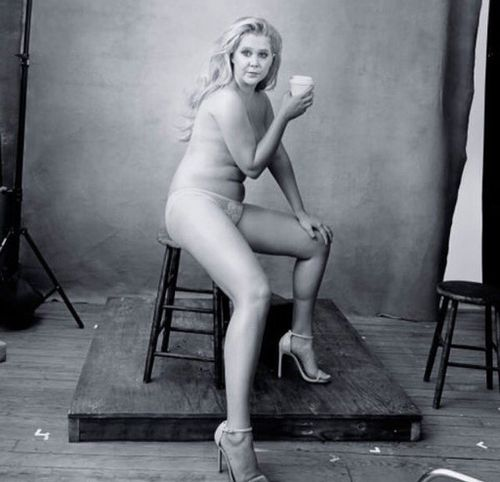 """Amy Schumer said she felt """"more beautiful"""" than she'd ever felt in her life during the photoshoot. (Instagram: @amyschumer)"""