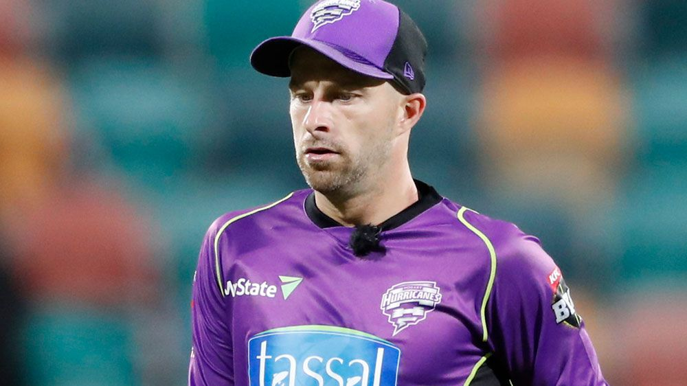 Hobart Hurricanes star Matthew Wade fined for dissent after BBL blow up