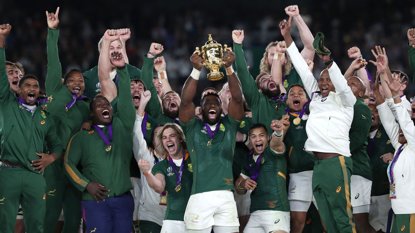 South Africa wins third Rugby World Cup with 32-12 victory over England