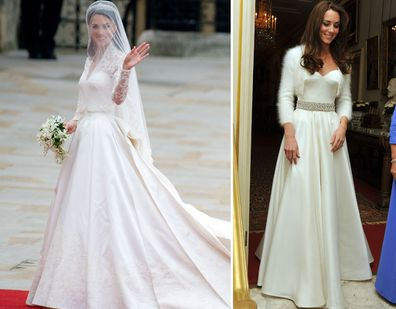 Kate Middleton\'s second wedding dress was just as beautiful. - 9Honey
